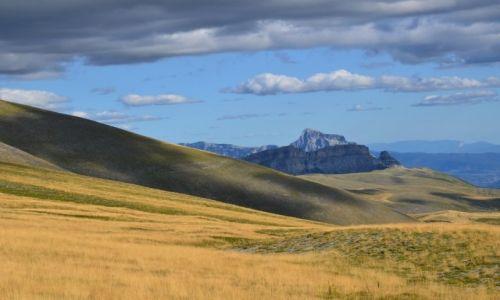 Zdjęcie HISZPANIA / Pireneje / Parque Nacional de Ordesa y Monte Perdido / w chmurach