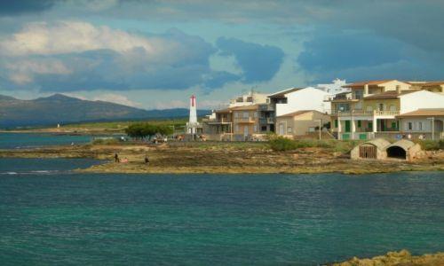 Zdjęcie HISZPANIA / Majorka / Picafort / Niebiesko-zielony