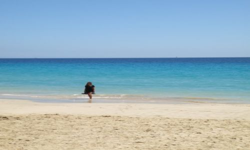 Zdjecie HISZPANIA / Fuerteventura. Wyspy Kanaryjskie. / Fuerteventura / Fuerteventura. Mi amor.