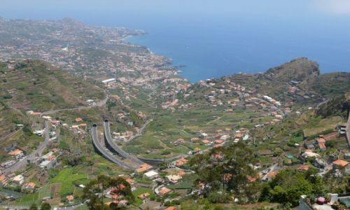 Zdjecie HISZPANIA / Madera / Cabo Girao / Widok z lewad
