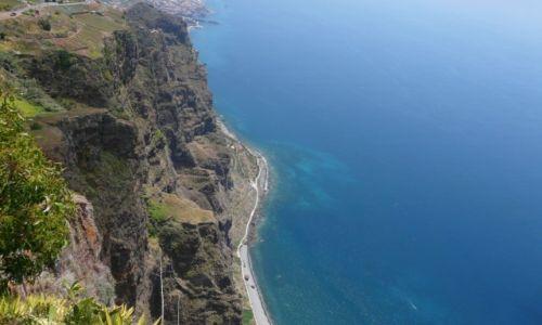 Zdjecie HISZPANIA / Madera / Cabo Girao / Widok z platformy widokowej