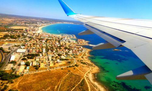 Zdjęcie HISZPANIA / Palma de Mallorca / Majorka / Majorka z lotu ptaka