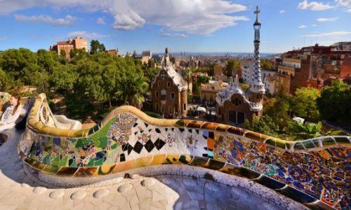 Zdjęcie HISZPANIA / Katalonia / Barcelona / Panorama