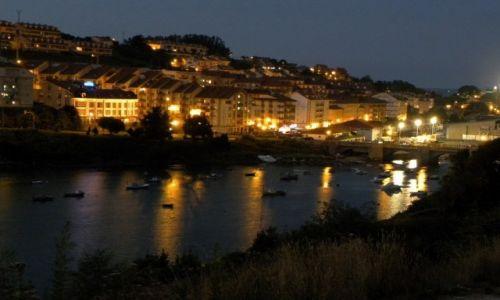 Zdjęcie HISZPANIA / Kantabria / San Vincente de la Barquera / wieczornie