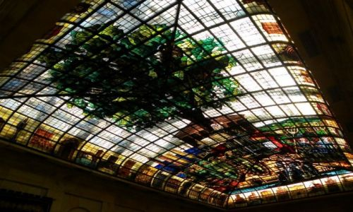 HISZPANIA / Pais Vasco / Guernica / �wi�ty d�b Bask�w