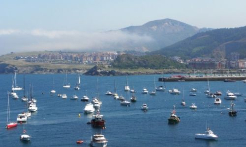 Zdjęcie HISZPANIA / Kantabria / Castro Urdiales / mgliste wybrzeże 2