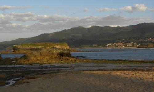 Zdjęcie HISZPANIA / Kantabria / Islares / odpływ