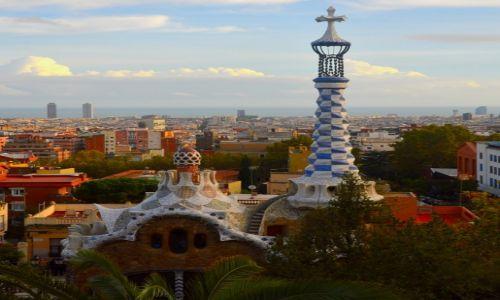 Zdjecie HISZPANIA / - / Barcelona / W parku Guell