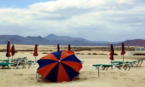 Zdjecie HISZPANIA / Fuerteventura/Wyspy Kanaryjskie / Corralejo / Na plaży