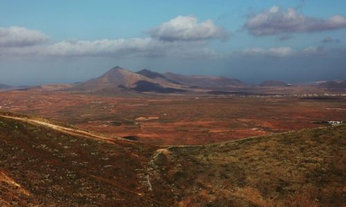 Zdjęcie HISZPANIA / Fuerteventura/Wyspy Kanaryjskie / Mirador Morro Velosa / Costa Antigua
