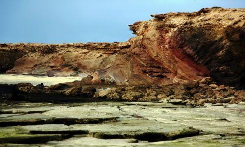 HISZPANIA / Fuerteventura/Wyspy Kanaryjskie / Półwysep Jandia/ Punta del Tigre / Playa de Los Ojos