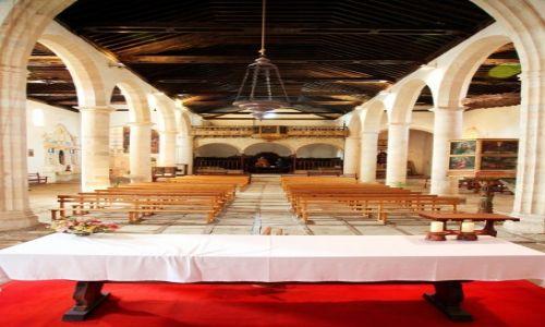 Zdjęcie HISZPANIA / Fuerteventura/Wyspy Kanaryjskie / Betancuria / Kościół katedralny de Santa Maria de Betancuria, wewnątrz