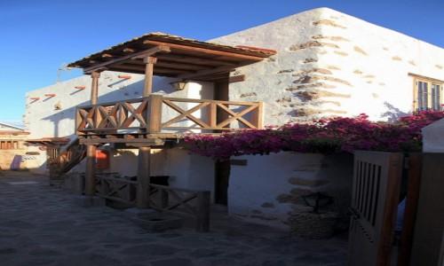 HISZPANIA / Fuerteventura/Wyspy Kanaryjskie / Tuineje / Casa Rural Tamasite