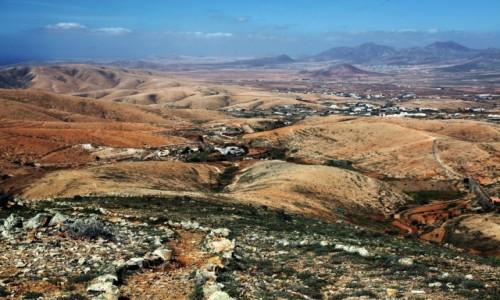 Zdjęcie HISZPANIA / Fuerteventura/Wyspy Kanaryjskie / Mirador Guise y Ayose / Na szlaku