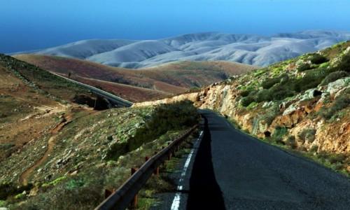 Zdjęcie HISZPANIA / Fuerteventura/Wyspy Kanaryjskie / Mirador Morro Velosa / Droga