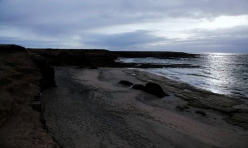 Zdjęcie HISZPANIA / Fuerteventura/Wyspy Kanaryjskie / Półwysep Jandia/ Punta del Tigre / Plaża oczu