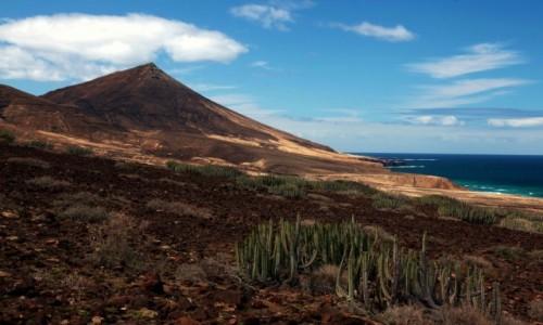 Zdjecie HISZPANIA / Fuerteventura/Wyspy Kanaryjskie / Półwysep Jandia / Plaża Cofete