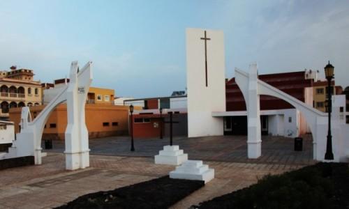 Zdjecie HISZPANIA / Fuerteventura/Wyspy Kanaryjskie / Corralejo / Kościół ewangielicki