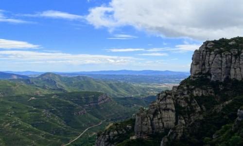 Zdjecie HISZPANIA / Katalonia / okolice Montserrat / Dolina Llobrega