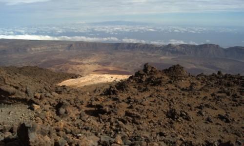 Zdjecie HISZPANIA / Teneryfa - Wyspy Kanaryjskie / Parque Nacional del Teide / Wulkan
