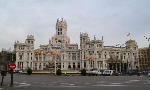 Zdjecie HISZPANIA / Madryt / Madryt / Plaza de Cibele