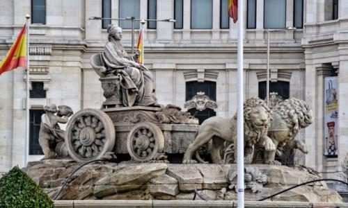 Zdjecie HISZPANIA / Madryt / Madryt / Frygijska bogin