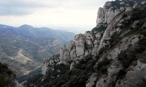 Zdjecie HISZPANIA /  Katalonia / Montserrat  / W g�rach