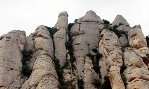 Zdjęcie HISZPANIA /  Katalonia / Montserrat  / Skałki