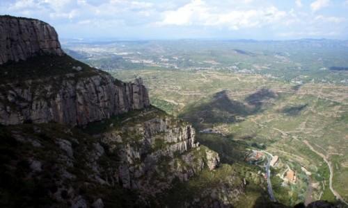 HISZPANIA /  Katalonia / Montserrat  / Hen, hen