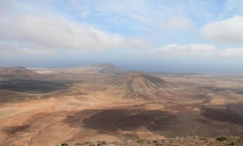 HISZPANIA / Fuerta / widok z wulkanu / Wyspy Kanaryjskie