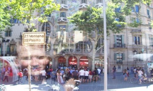 Zdjecie HISZPANIA / Katalonia / Barcelona / Z okna autobusu