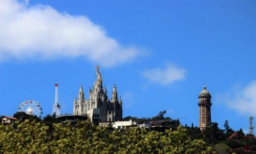 Zdjecie HISZPANIA / Katalonia / Barcelona / Tibitabo z do�u