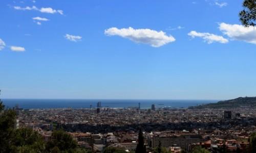 Zdjecie HISZPANIA / Katalonia / Barcelona / Widok na Barcel