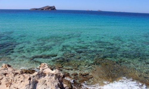Zdjęcie HISZPANIA / - / Ibiza /  - cala comte -