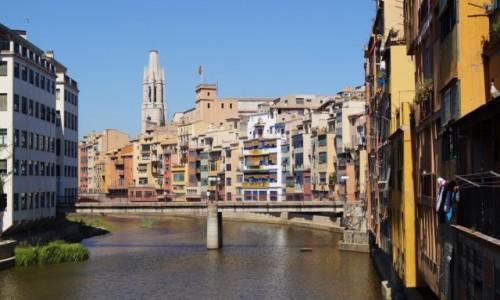 HISZPANIA / Katalonia / Girona / Hiszpa�ska Wenecja