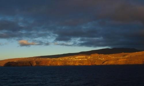 Zdjęcie HISZPANIA / Wyspy Kanaryjskie / La Gomera / La Gomera o świcie