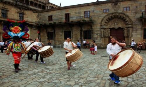 Zdjęcie HISZPANIA / A Coruña / Santiago de Compostela / Fiesta del Apostol Santiago
