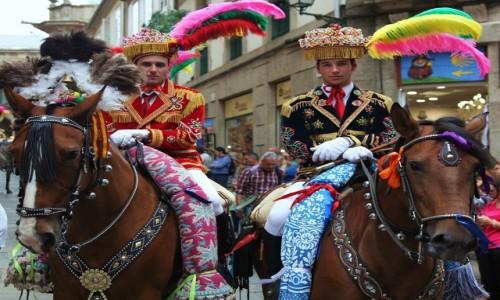 Zdjęcie HISZPANIA / A Coruña / Santiago de Compostela / Jeźdźcy