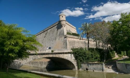 Zdjecie HISZPANIA / Majorka / Majorka / Bastion - Palma de Mallorca