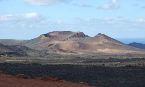 Zdjecie HISZPANIA / Wyspy Kanaryjskie / Lanzarote / Wulkan