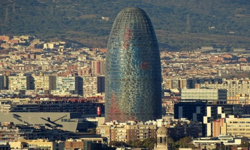 Zdjęcie HISZPANIA / Katalonia / Barcelona / Torre Agbar