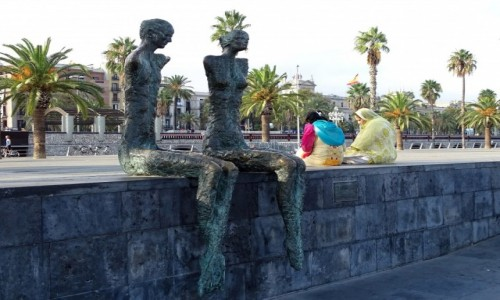 Zdjecie HISZPANIA / Katalonia / Barcelona / Wielokulturowo�