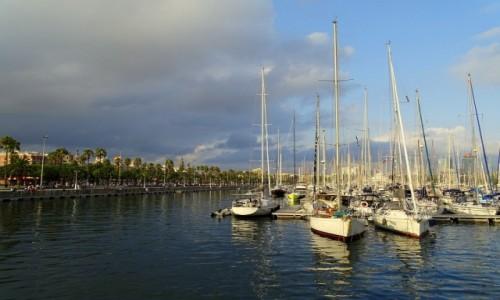 Zdjecie HISZPANIA / Katalonia / Barcelona / Stary Port