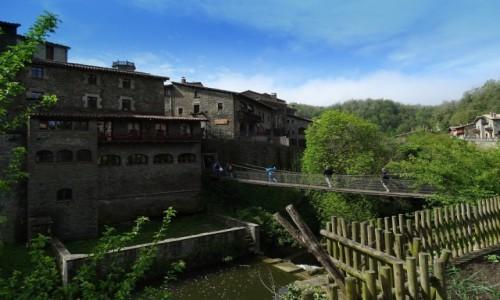 Zdjecie HISZPANIA / Katalonia / Rupit / Wisz�cy most