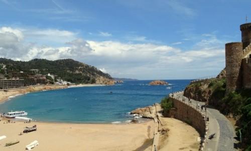 HISZPANIA / Katalonia / Tossa de Mar / B��kitny raj