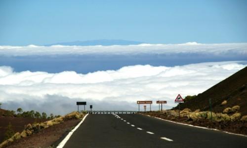 Zdjęcie HISZPANIA / Kanary / Teneryfa / Autostrada do nieba
