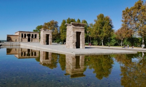 Zdjęcie HISZPANIA / Madryt / Parque de la Montana / Świątynia Debod