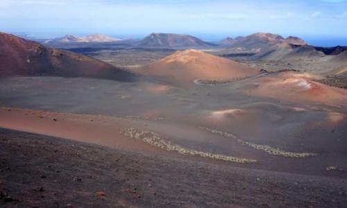 Zdjęcie HISZPANIA / Lanzarote / Park Narodowy Timanfaya  / jedyna w swoim rodzaju...