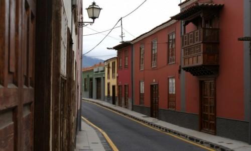 Zdjęcie HISZPANIA / Teneryfa / La Orotava / Ulice La Orotava