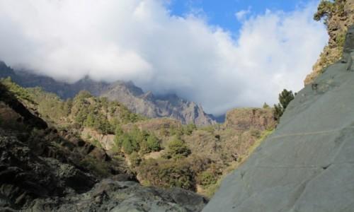 Zdjecie HISZPANIA / Wyspy Kan. / la Caldeira de Taburiente / La Palma